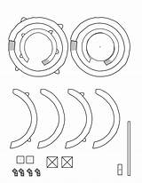 Gyroscope Stencil Instructables Craft Paper Works Template Cnc sketch template