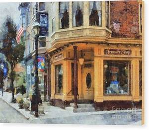 Jim Thorpe Pa - Treasure Shop - On Broadway Photograph by ...