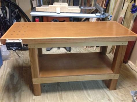 workbench  chad  lumberjockscom woodworking