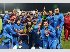 Afghanistan 1 point below India in the latest ICC T20 10