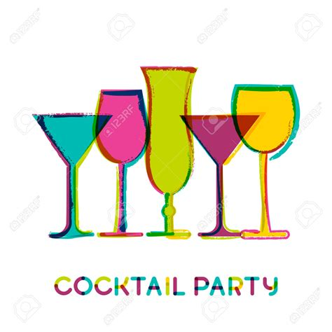 vintage cocktail party clipart wine clipart party drink pencil and in color wine