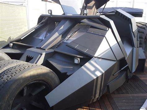 build  life size batmobile tumbler gadgetsin