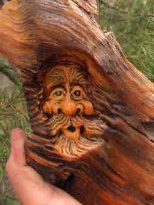 Wizard Wood Carving Tree