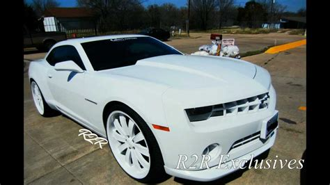 All White Cars by All White Chevy Camaro