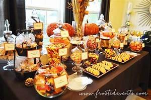 Buffet Halloween : diy dessert table for wedding or party ~ Dode.kayakingforconservation.com Idées de Décoration