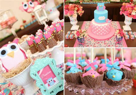bay area girl birthday party theme birthday party ideas kara 39 s party ideas woodland owl bug flower garden girl