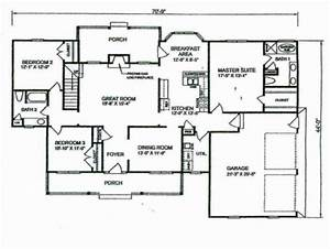 Stunning Simple 4 Bedroom House Plans Planskill Four, 4 ...