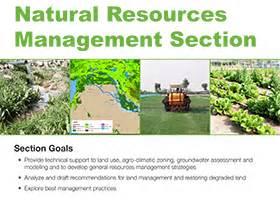 natural resources management section international center  biosaline agriculture