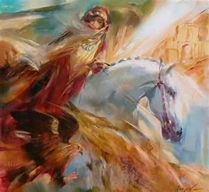 imágenes arte pinturas cuadros modernos con chicas y