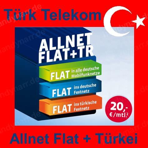 tuerk telekom mobile allnet flat tr prepaid sim karte
