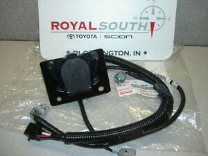2013 Tundra Wiring Harnes Connector by Toyota Tacoma 7 Pin Tow Harness Connector Genuine Factory