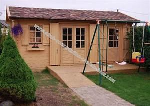 Lame Bois Pour Construction Chalet : kit chalet en bois mod le rhododendron 22 m avec 2 pi ces ~ Melissatoandfro.com Idées de Décoration