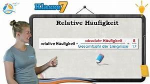 Relative Häufigkeit Berechnen 6 Klasse : relative h ufigkeit wahrscheinlichkeit klasse 7 wissen youtube ~ Themetempest.com Abrechnung