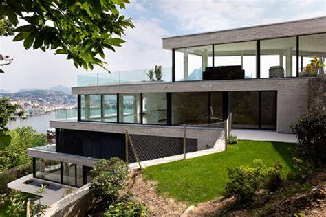 homes built into hillside imágenes de interiores de casas modernas de lujo