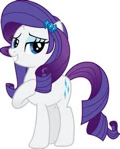 My Little Pony Equestria Girls Rarity Hair