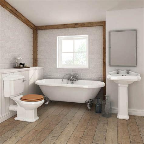 legend traditional roll top bathroom suite  victorian
