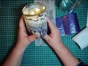 Kalkflecken Auf Glas : gl ser mit serviettentechnik bearbeiten faltenfrei und schnell umdekoriert youtube ~ Watch28wear.com Haus und Dekorationen
