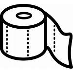 Svg Icon Toilet Paper Roll Outline Onlinewebfonts