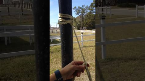 How To Tie Up A Hammock by How To Tie A Bowline Knot For Hanging A Hammock