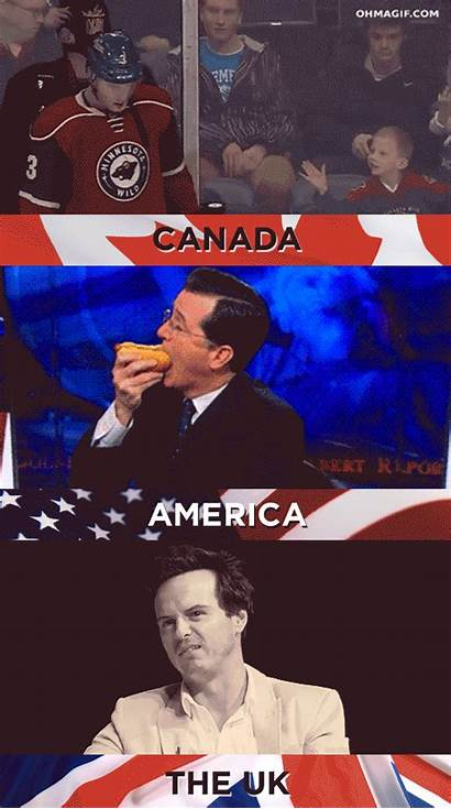 Canada America Things Funny Agree Memes Cannot