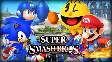 Ssbu Mario Vs Megaman Vs Pacman Vs Sonic Sonic Vs Mario