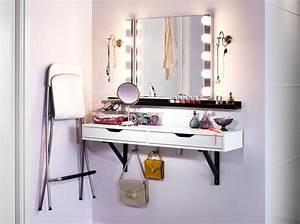 Meuble Pour Se Maquiller : les 25 meilleures id es de la cat gorie coiffeuse meuble sur pinterest coiffeuse ikea ~ Dallasstarsshop.com Idées de Décoration