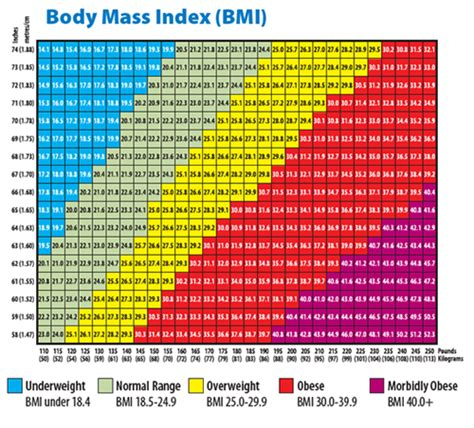 Male Bmi Chart This Would Depend On What Is The Height Of This So