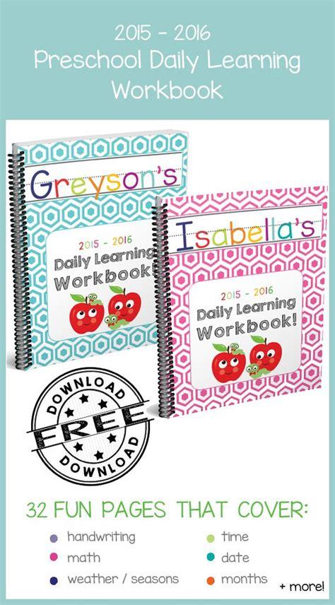 preschool daily learning workbook 2015 2016 edition in 768 | 76a477d7682053445773a6493b0c510b