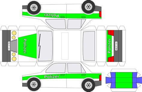 Police Car Papercraft  Wwwpixsharkcom Images