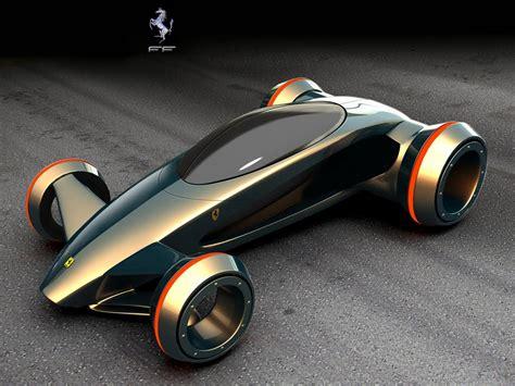 1st Rows Of Ferrari Ecofriendly Concept Cars