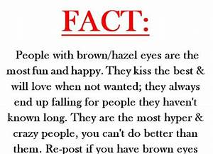 brown eyes, fact, facts, kiss, people - image #409712 on ...