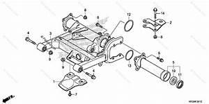 Honda Atv 2014 Oem Parts Diagram For Swingarm