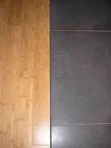 cuisine cuisine le sol parquet dans la cuisine With séparation carrelage parquet