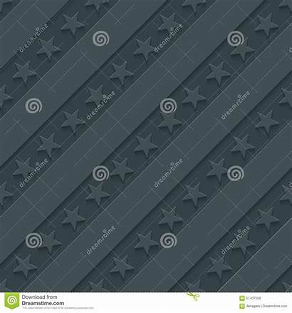 Stripes Stars Gray Dark