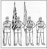 Guard Right Arms Cadet Flag B1 Bearers Remain Staffs Vertical Ground Feet Corps California sketch template