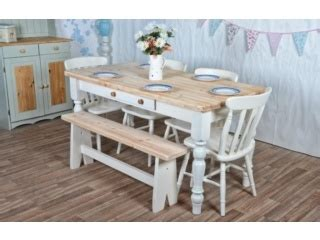 shabby chic conservatory furniture shabby chic dining table with bench mmmm for the home pinterest shabby chic dining