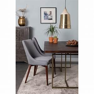 Chaise En Tissu : chaise en tissu de couleur 5 id es de d coration int rieure french decor ~ Teatrodelosmanantiales.com Idées de Décoration