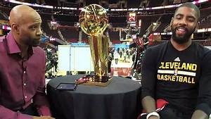Vince Carter Interviews Kyrie Irving about the NBA Fina ...