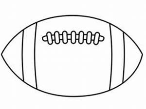 freeprintablefootballstencil thin football outline With football cutout template