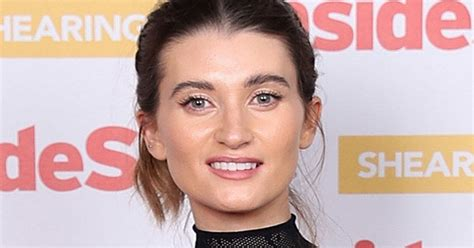 Emmerdale's Charley Webb turns seductress in sheer lace ...