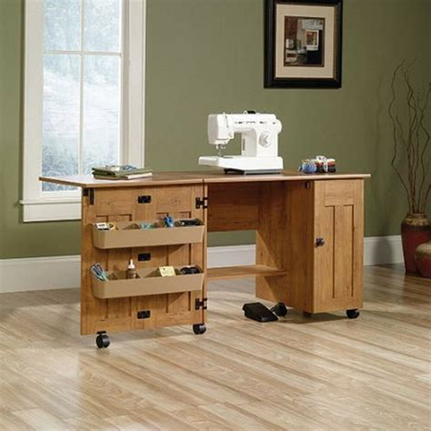 craft cabinet with drop table sewing machine table cabinet craft storage desk dresser