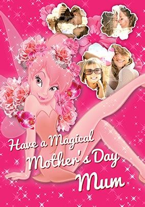 Maybe you would like to learn more about one of these? Tinkerbell Magical Mother's Day Photo Card   Funky Pigeon