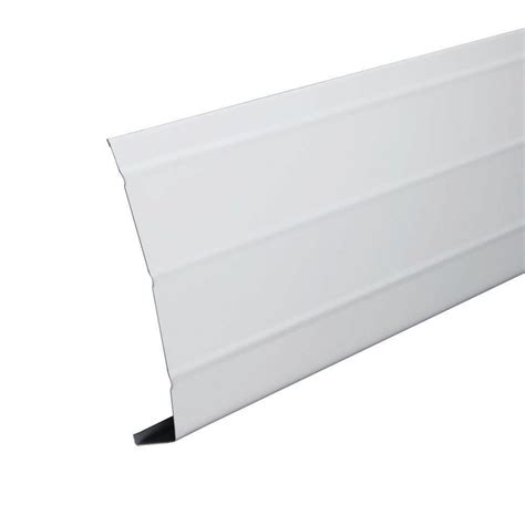 kitchen furniture brisbane 6 in x 12 ft white aluminum fascia trim 77103 the home