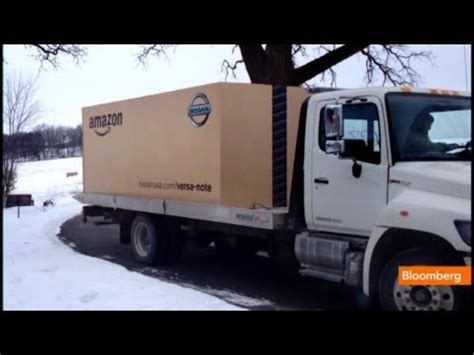 stunt amazon delivers   car   prime box youtube