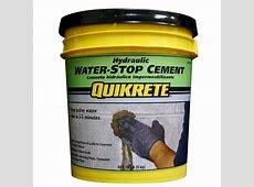 Quikrete 20 lb Hydraulic WaterStop Cement Concrete Mix