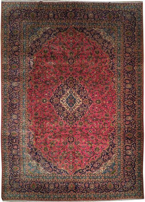 10x14 area rugs authentic 10x14 kashan rug genuine iran ebay