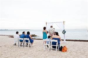 intimate beach wedding key biscayne small miami weddings With small beach wedding ideas