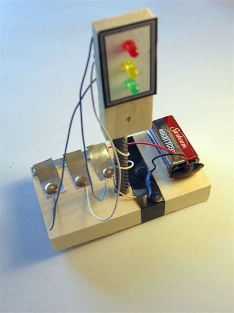 Build Traffic Light Science Electricity
