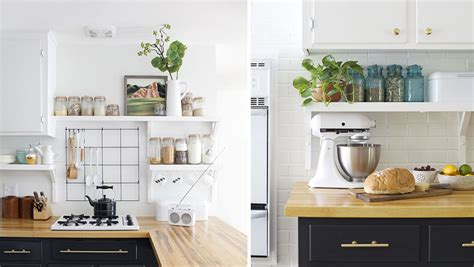 décoration cuisine etagere
