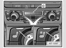 Audi Workshop Manuals > A5 > Heating, ventilation, air